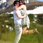 Glen Alps Engagement: Elise & Cody by Josh Martinez