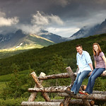 Glen Alps Engagement: Mike & Aletha by Joe Connolly