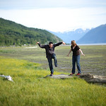 Seward Highway Engagement: Hannah & Josh by Joe Connolly