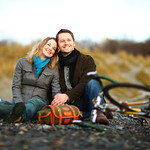 Kincaid Park Engagement: Julie & Brandon by Josh Martinez