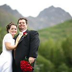 Eklutna Lake Wedding: Lacy & Larry at Eklutna Lake by Joe Connolly