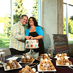 Anchorage Reception: Dana & Josh at Hillside Ski Chalet by Joe Connolly