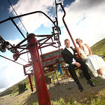 Anchorage Wedding: Lauren and Zack at Arctic Valley by Joe Connolly
