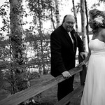 Wasilla Wedding: Jean & Jon at the Best Western- Lake Lucille by Karen Hilton