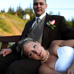 Anchorage Wedding: Jesi & Roger at Hilltop Ski Chalet