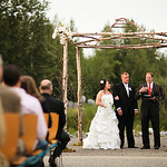 Anchorage Wedding: Mark & Alicia at the Alaska Native Heritage Center by Josh Martinez