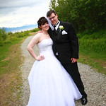 Anchorage Wedding: Jennifer & Alex at Bayshore Clubhouse by Ralph Kristopher