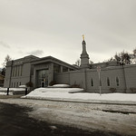 Anchorage Wedding: Elizabeth & Fraser at the LDS Temple by Philip Casey