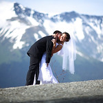 Girdwood Wedding: Laura & Dimitris at Alyeska Resort by Joe Connolly