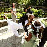 Anchorage Wedding: Kizzy & David at the Alaska Botanical Gardens by Joe Connolly