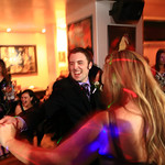 Anchorage Wedding: Stephanie & Kevin at Bernie's Bungalow Lounge by Joe Connolly