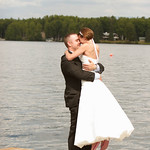 Big Lake Wedding: Jessica and Doug at Sunset View Resort by Dan Anderson