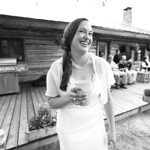 Cooper Landing Wedding: Julia & Simon at Alaska Heavenly Lodge by Joe Connolly