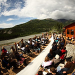 Denali Wedding: Leah & Issac At Princess Lodge by Joe Connolly