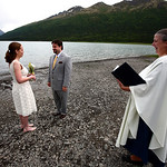 Eklutna Lake Wedding: Jewell & William