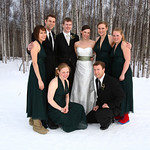 Fairbanks Wedding: Jenny & Erik At Birch Hill Ski Hill by Joe Connolly