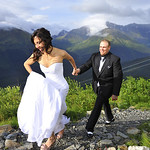 Girdwood Wedding: Martina & Jasen at Alyeska Resort by Chris Beck