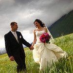 Girdwood Wedding: Liz & Buddy at Raven Glacier Lodge by Joe Connolly