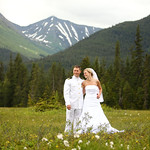 Girdwood Wedding: Jolene & Aaron Around Girdwood by Joe Connolly