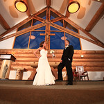 Girdwood Wedding: Brittanie & David at Our Lady of the Snows by Joe Connolly