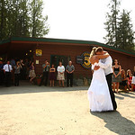 Girdwood Wedding: Nicole & Will at Chair 5 by Philip Casey