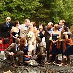 Girdwood Wedding: Beth & Lucus at Crow Creek Mine by Joe Connolly