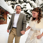 Girdwood Wedding: Carolyn & Scott at Raven Glacier Lodge by Josh Martinez