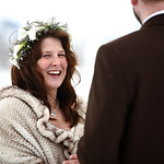 Girdwood Wedding: Stephanie & Patrick at Spencer Glacier by Nick Gillespie & Philip Casey
