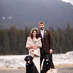 Girdwood Wedding: Stephanie & Patrick in Girdwood by Nick Gillespie & Philip Casey
