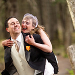 Girdwood Wedding: Allison & Dave at Crow Creek Mine by Joe Connolly