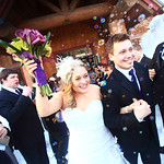 Girdwood Wedding: Jamie & Patrick at Our Lady of the Snows by Joe Connolly