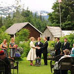 Girdwood Wedding: Julie & Brandon at Crow Creek Mine by Josh Martinez