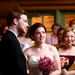 Girdwood Wedding: Christina & Andrew at Our Lady of the Snows by Joe Connolly