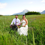 Girdwood Wedding: Brandi & James Around Girdwood by Chris Beck