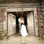 Girdwood Wedding: Megan & William at Crow Creek Mine by Chris Beck