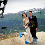 Girdwood Wedding: Raina and Richard at Alyeska Resort by Ralph Kristopher