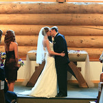 Girdwood Wedding: Rebekah & Paul at Our Lady of the Snows Chapel by Chris Beck