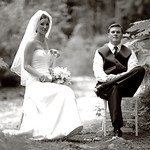 Girdwood Wedding: Anna & Matt at Raven Glacier Lodge by Joe Connolly