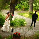 Girdwood Wedding: Sarah & Chris at Raven Glacier Lodge by Joe Connolly