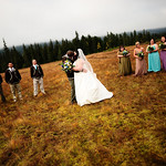 Girdwood Wedding: Kathleen & Byron at Moose Meadows by Josh Martinez