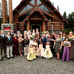 Girdwood Wedding: Kathleen & Byron at Our Lady of the Snows by Josh Martinez