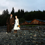 Juneau Wedding: Jennifer & Daniel at Orca Point Wilderness Lodge by Joe Connolly