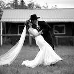 Matanuska Valley Wedding: Tara & Beau at Majestic Valley Lodge by Philip Casey