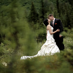 Moose Pass Wedding: Stephanie & Dan at the Inn at Tern Lake by Philip Casey