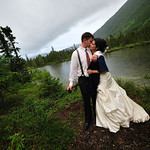 Moose Pass Wedding: Stephanie & Dan at the Inn at Tern Lake by Josh Martinez