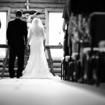 Cooper Landing Wedding: Stephanie & Max at St. John Neumann Catholic Church by Josh Martinez