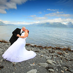 Seward Wedding: Erica & Brent at the Seward Windsong Lodge by Josh Martinez