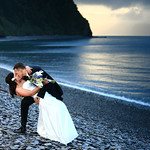 Seward Wedding: Moorea & Terril at Fox Island Lodge by Jonathan Gurry