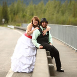 Seward Wedding: Brittany & Taylor at the Seward Windsong Lodge by Joe Connolly