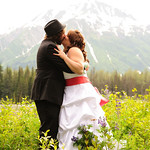 Seward Wedding: Brittany & Taylor at the Seward Windsong Lodge by Chris Beck